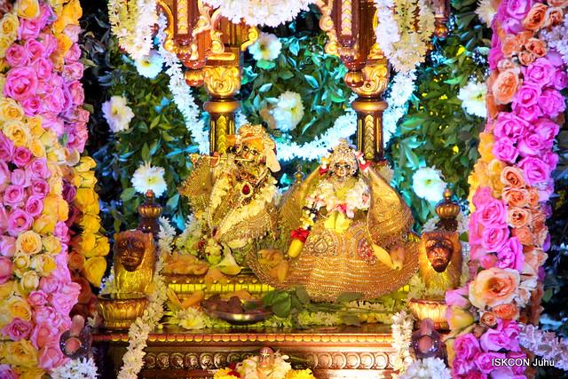 ISKCON Juhu Jhulan yatra Darshan on 14th Aug 2019