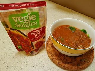 Vegie Delights Bolognese