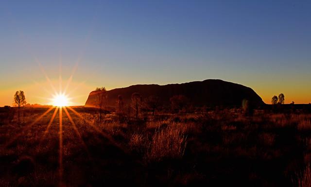 Uluru Sunset Uluru-Kata Tjuta National Park Australia