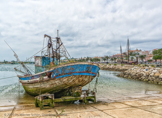 Retired Fisherboat in Lagos Harbour