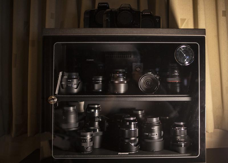 カメラ/レンズ防湿庫 HAKUBA KED-85W