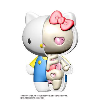 三麗鷗明星全被看光光了!立體拼圖『KAITAI FANTASY』系列第一彈「Hello Kitty」&「美樂蒂」商品情報公開!