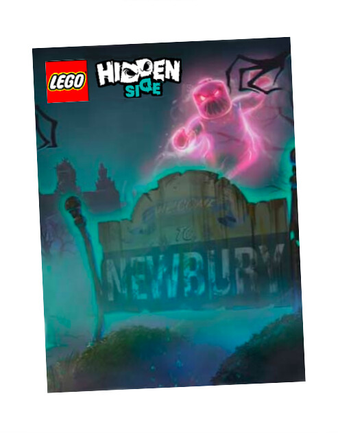 LEGO Hidden Side Magazine Temp