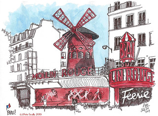 Paris Moulin Rouge | by petescully