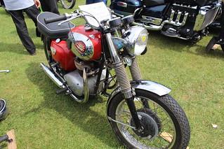 BSA 1962 A65 Lightning 650cc 552 UKE