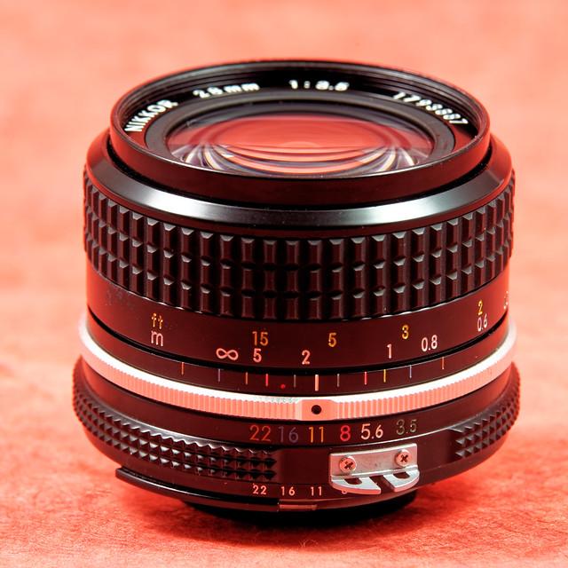 Nikon 28 mm f/3.5 AI