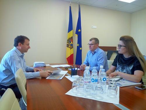 15.08.2019 Întrevederea Președintelui Comisiei economiei, buget și finanțe, Igor Munteanu cu Președintele Executiv al Asociației Investitorilor din România în Republica Moldova, Dan Nuțiu