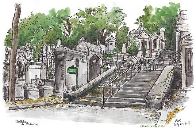 Paris Montmarte Cemetery