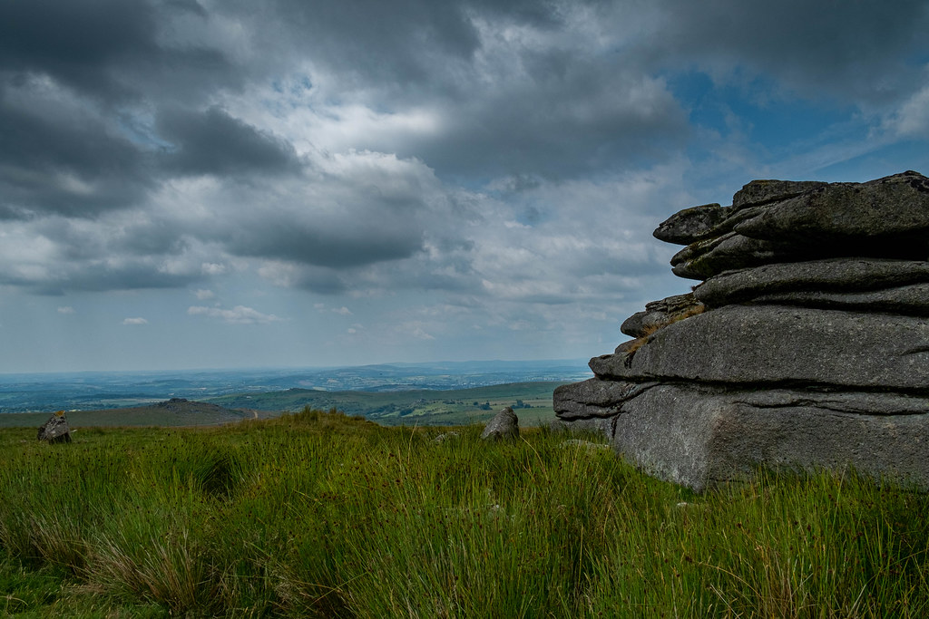 Dartmoor, weathered rocks 2