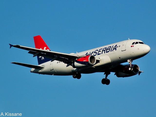 AIR SERBIA A319 YU-API