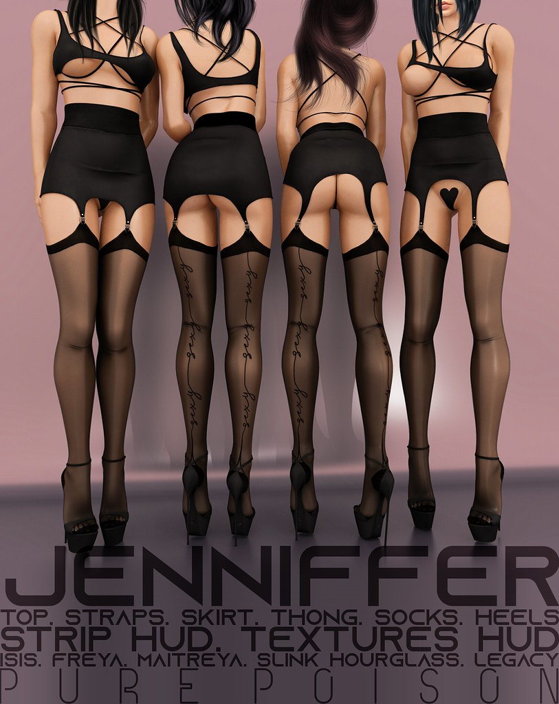Pure Poison - Jenniffer Outfit AD
