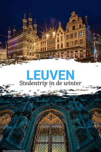 Winter in Leuven: ga naar de kerstmarkt in Leuven. Bekijk alle tips | Mooistestedentrips.nl