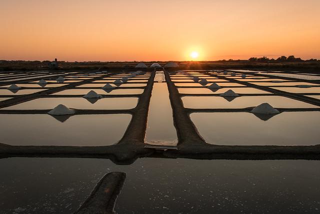 Coucher de soleil Noirmoutier