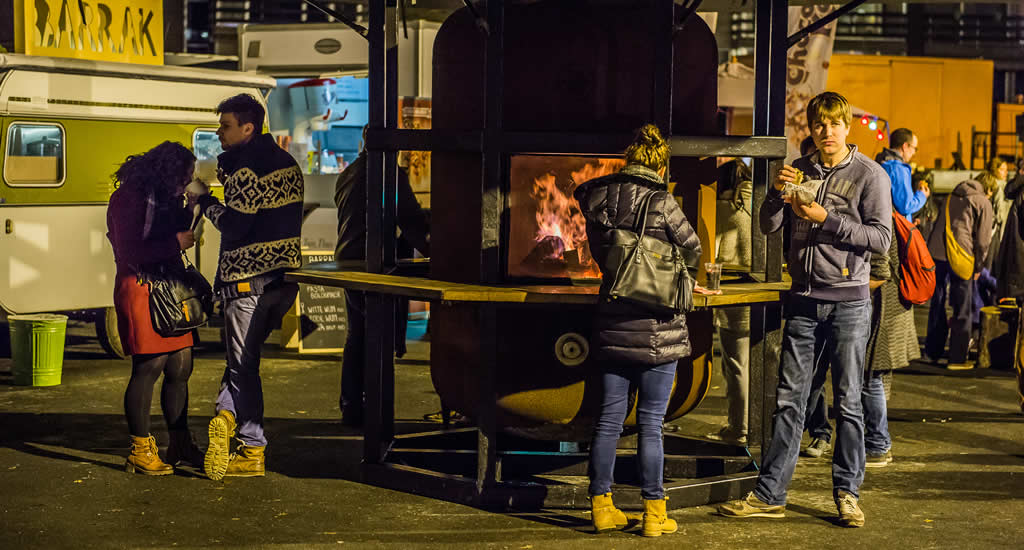 Winter in Leuven, foodtruckfestival | Mooistestedentrips.nl