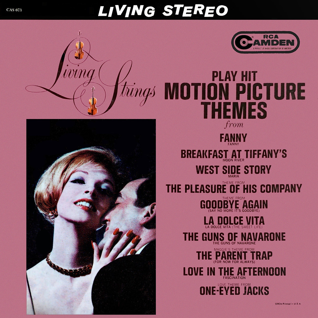 Living Strings - Hit Motion Picture Themes