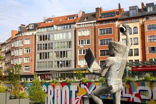 Leuven: het Rector de Somerplein