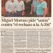 Miguel MOreno pide unión contra el rechazo a la A-306