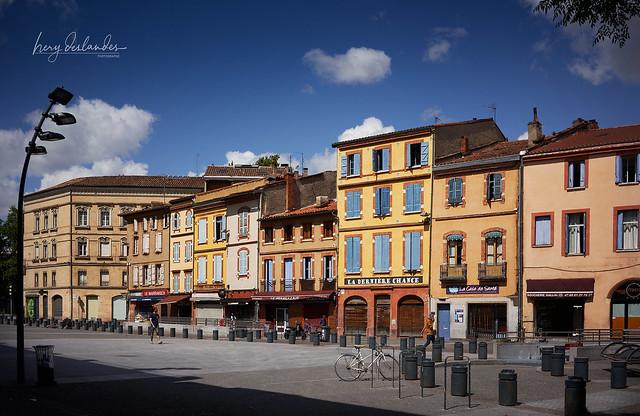 Toulouse, place Arnaud Bernard