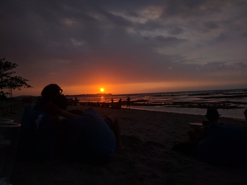 Anocheces en isla Gili Air