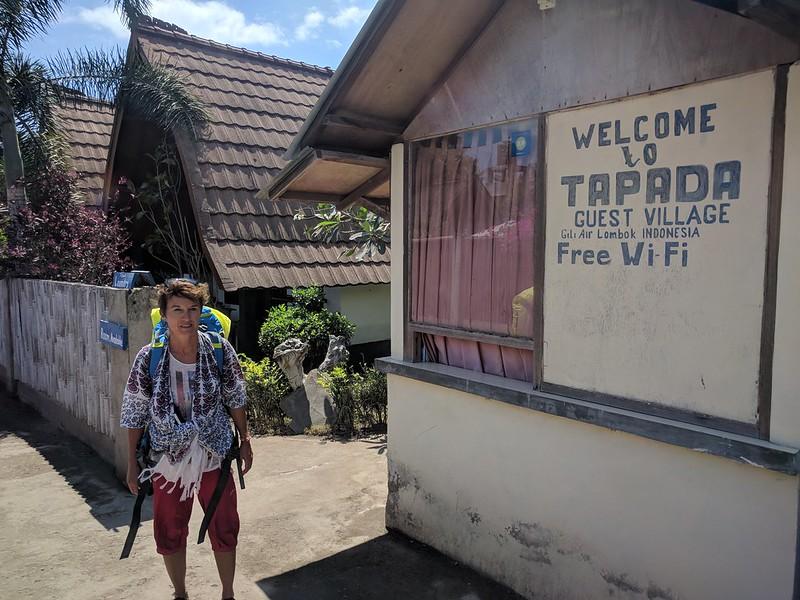 Alojamiento Tapada en la Isla Gili Air