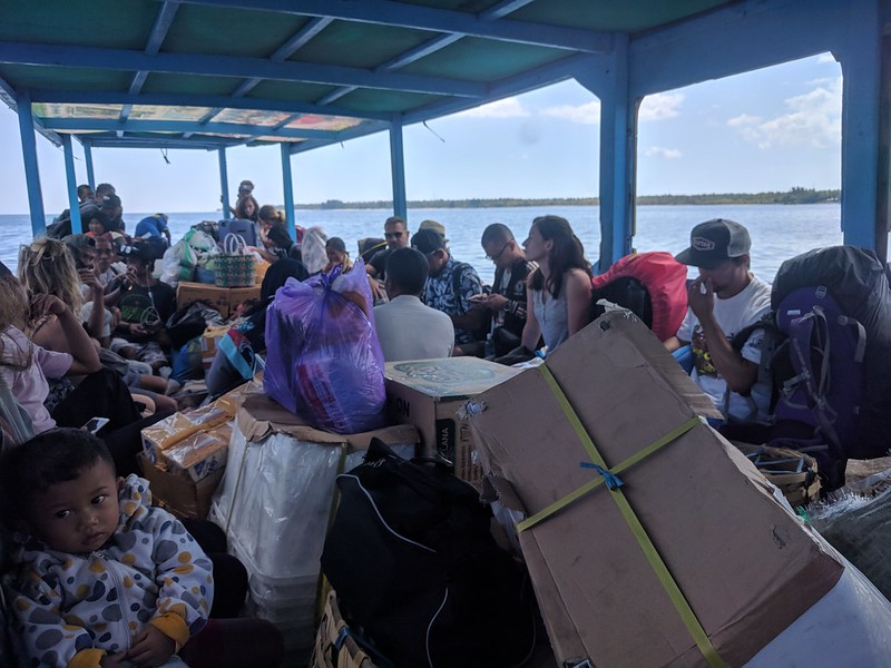 Ferrys público de Bangsal a isla Gili Air
