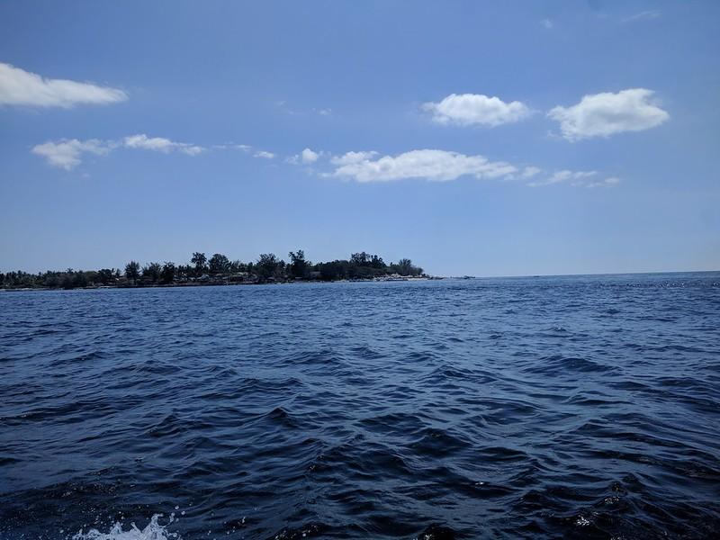 llegando a la Isla Gili Air