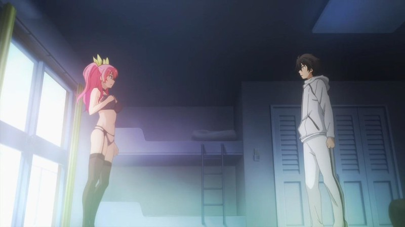chivalry of a failed knight ikki kurogane stella vermillion princess worst one ecchi lewd panties