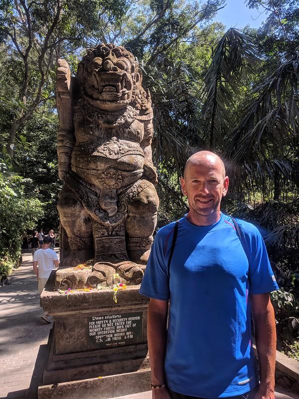 Entrada al Monkey Forrest de Ubud
