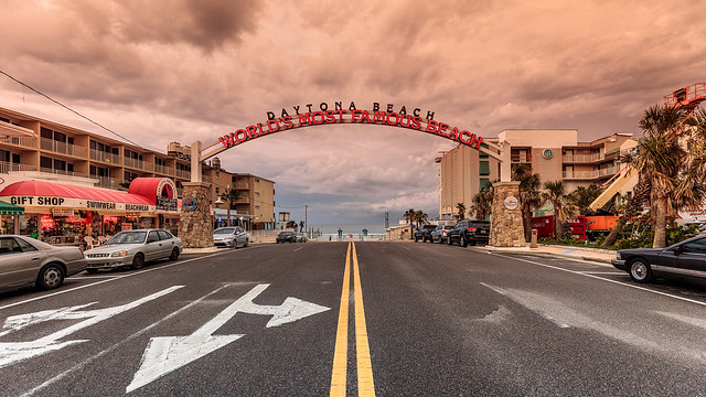 Daytona Beach Entrance