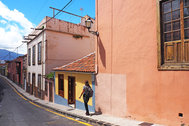 Typical street, La Orotava, Tenerife