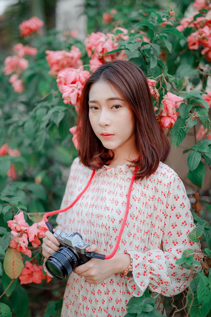 น้องออย กล้อง Canon EOS R เลนส์ Sigma 50mm f1.4 Art