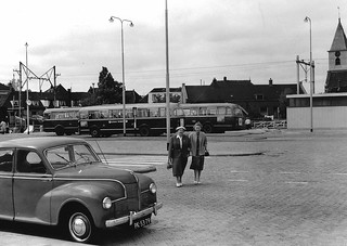 Jowett Javelin & AEC Regal Mk.IV buses