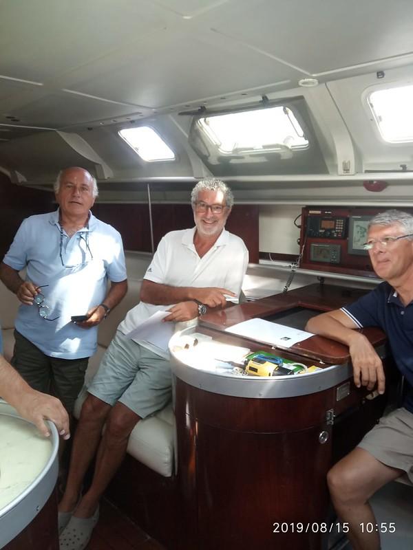 20190815 - cnllanca - capacitació nàutica - electrònica a bord