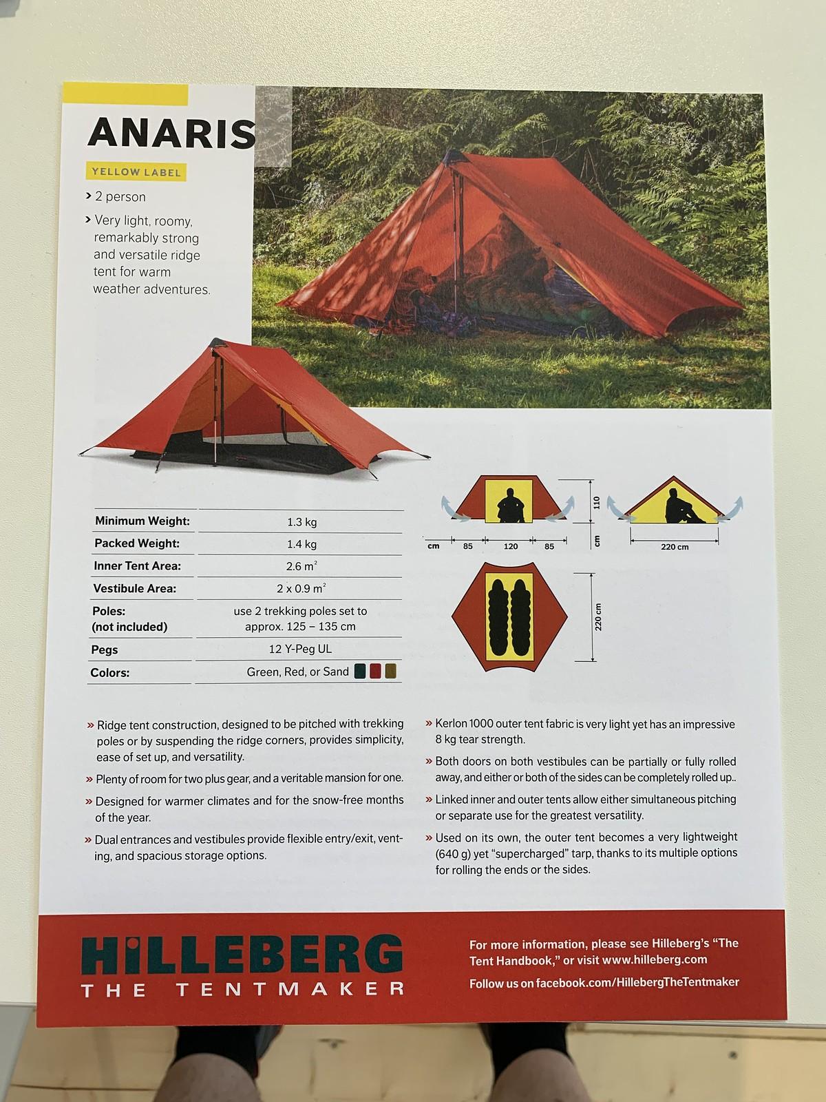 Hilleberg Anaris