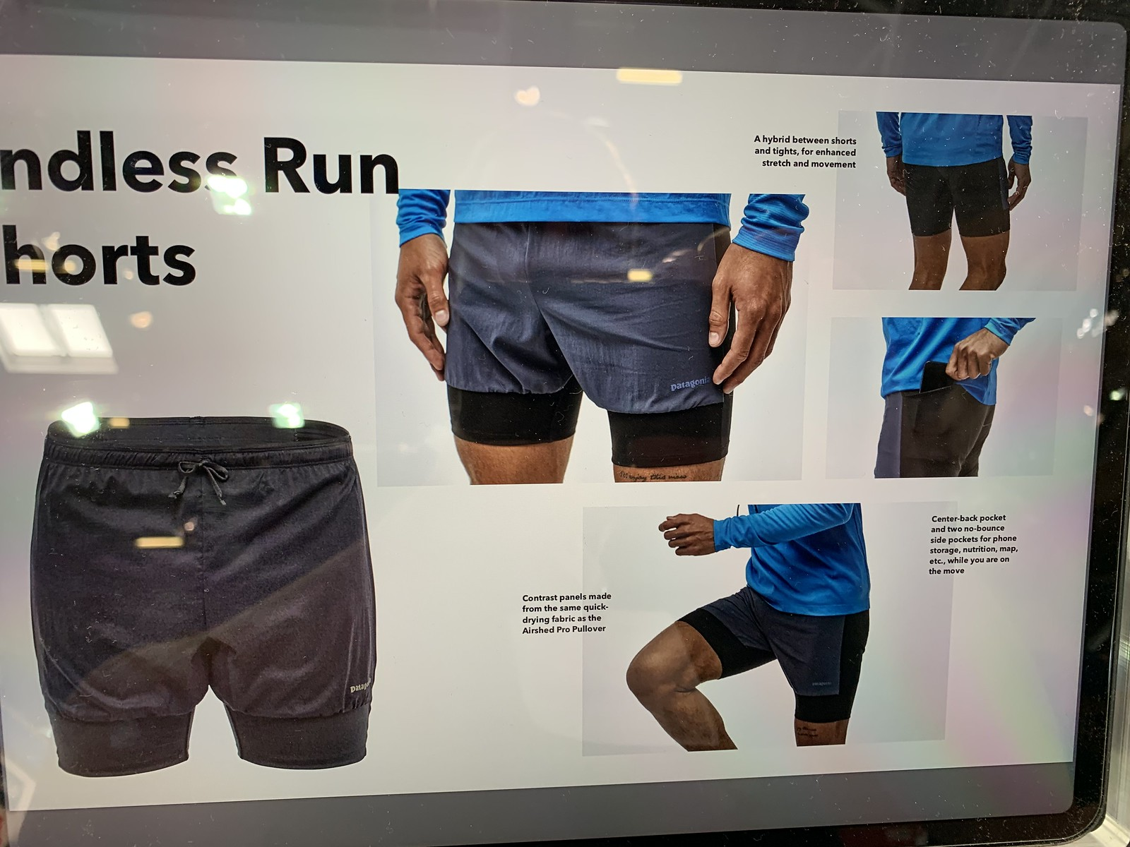 Patagonia Endless Run Shorts