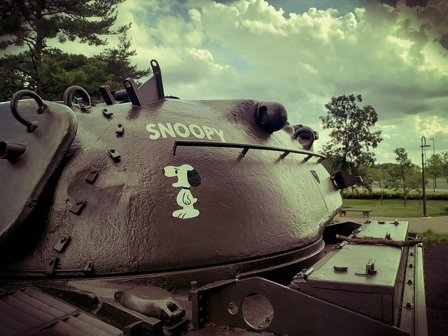 Tank, Snoopy, Cantigny Park. (s9)