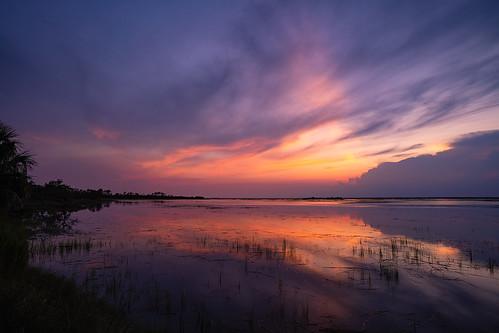 landscapephotography huntingisland sunset coastal sonyilce7rm2a7rii zeissbatis18mmf28 southcarolina reflections
