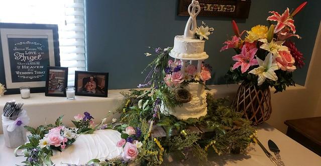 Enchanted Forrest Wedding Cake by Mary Burney