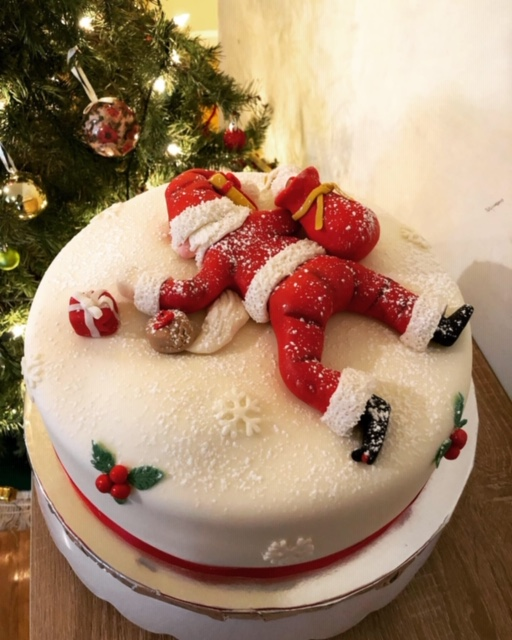 Crashed Landing Santa by Ivonne McPherson of The Perfect Bite Delights