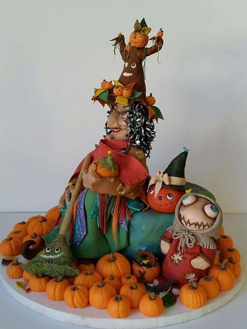 Cake by Lina Maria Munoz of Arte Cake Boutique