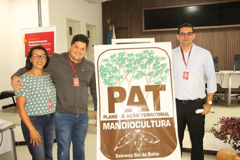 Ações coletivas são apresentadas no Plano de Ação Territorial da Mandiocultura (PAT) (14)