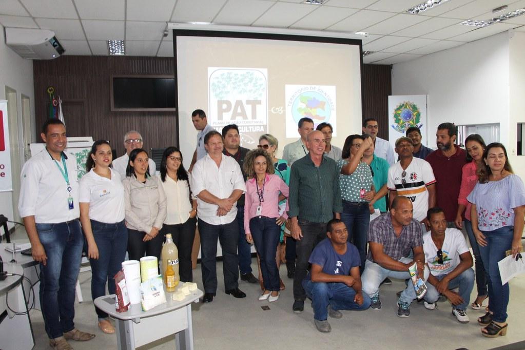 Ações coletivas são apresentadas no Plano de Ação Territorial da Mandiocultura (PAT) (13)