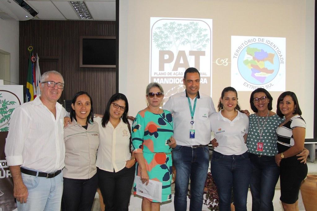 Ações coletivas são apresentadas no Plano de Ação Territorial da Mandiocultura (PAT) (12)