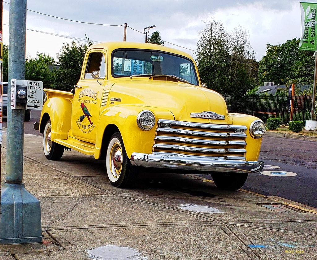 Yellow Chevy