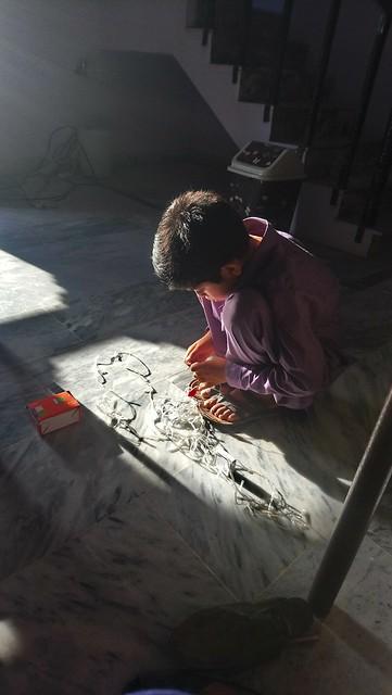 Nosherwan fixing lights