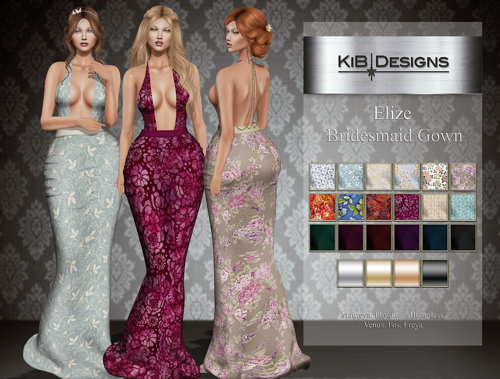 KiB Designs – Elize Bridesmaid Gown @The Trunk Show