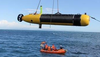 The MUSCLE autonomous underwater vehicle (AUV), data from which has been used to demonstrate the new algorithms developed in this project.