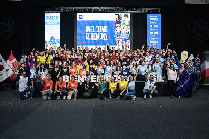 USIL realizó ceremonia de bienvenida para alumnos internacionales 2019-2