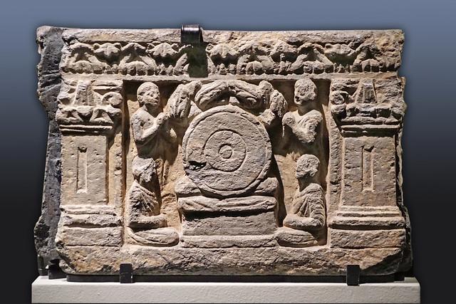 Première prédication (Musée Guimet / MNAAG, Paris)