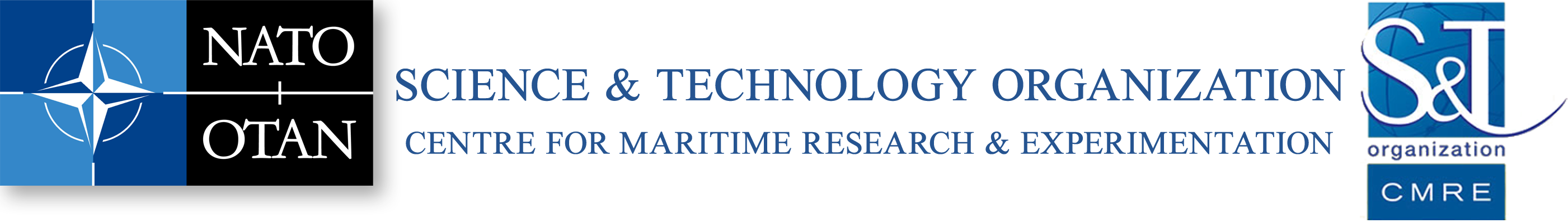 NATO Centre for Maritime Research and Experimentation (CMRE) logo